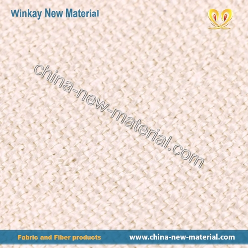 Heat-treated expanded Fiberglass cloth